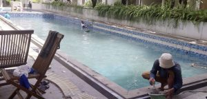 Kolam Renang di Gambir