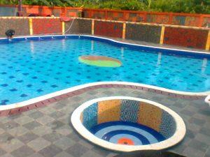 Konstruksi kolam renang di gondangdia