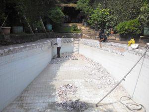 konstruksi kolam renang