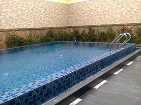 konstruksi kolam renang di pisangan jakarta timur