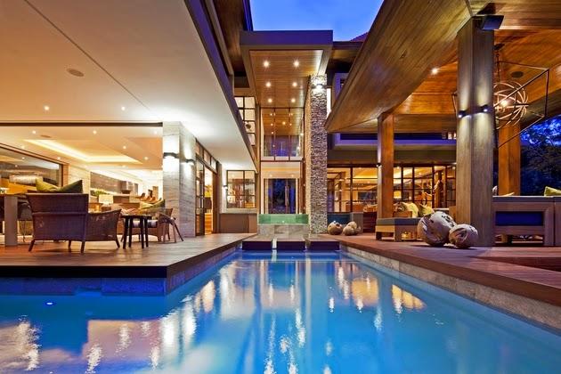 Desain Kolam Renang Besar Dan Mewah